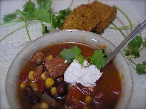chorizo and black bean soup6724